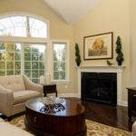 Calm Neutral Living Room Paint Color Cream Painted Wall Beige