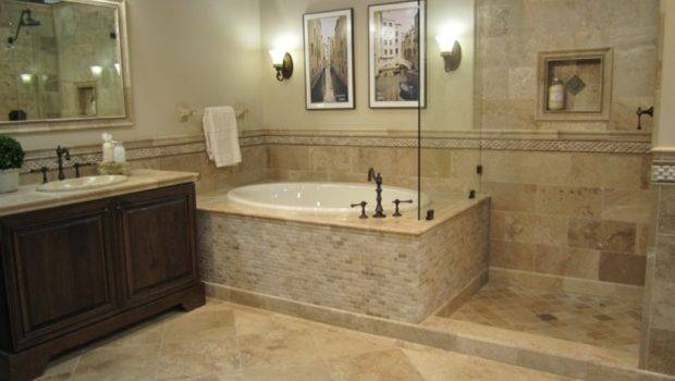Can Even Have Travertine Bathroom Ideas