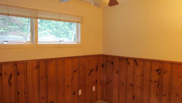 Can Paint Wood Paneling Painting Old Room