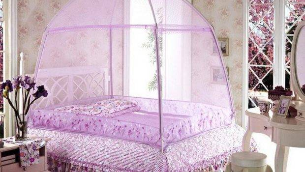 Canopy Bed Bedroom Drapes Curtain Diy Also