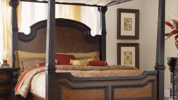 Canopy Bed Curtains Poster Fantasy Palace Curtain