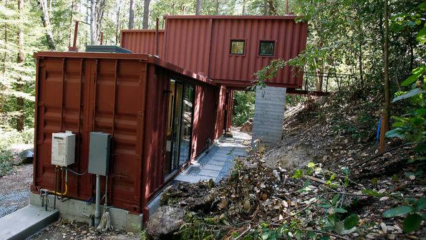 Cargo Containers Mountain Retreat Containerauction