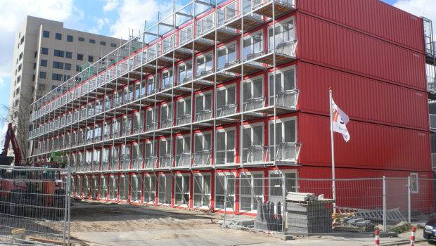 Cargo Containers Sustainable Living Future
