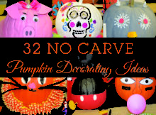 Carve Pumpkin Decorating Ideas
