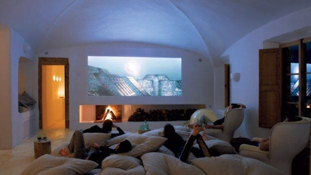 Cave Home Theatre Room Interior Design Ideas