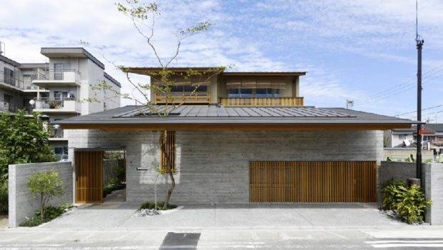 Cawah Homes Contemporary Wooden House Hinomiya Tsc Architects