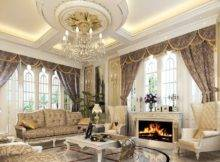 Ceiling Brown Paint Color White