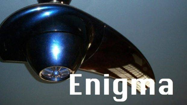 Ceiling Fan Review Enigma Limited Edition Fanimation Youtube