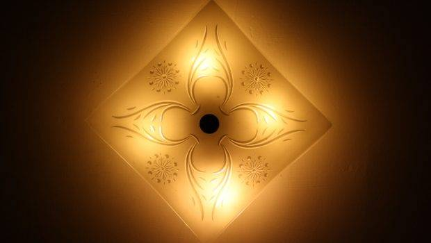 Ceiling Light Fixture Square Lights High