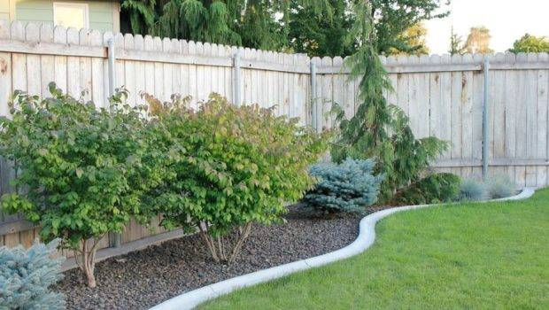 Cement Flower Bed Border Outdoor Spaces Pinterest