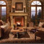 Center Your Seating Around Big Fireplace Everyone Can Sit Back