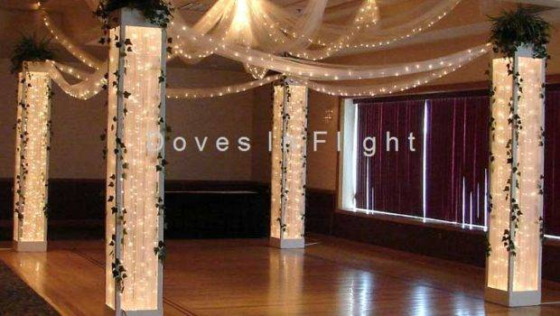 Chair Covers Lansing Columns Backdrops