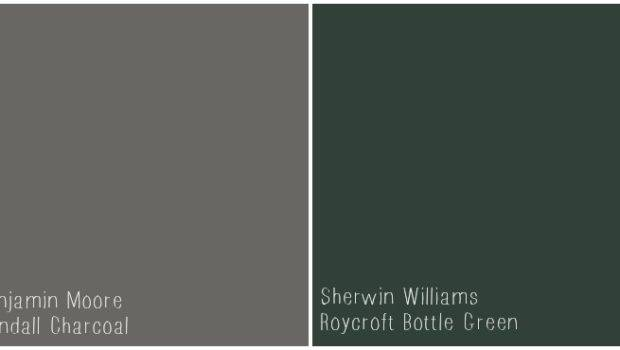 Charcoal Color Paint Kendall Perfect Neutral Gray