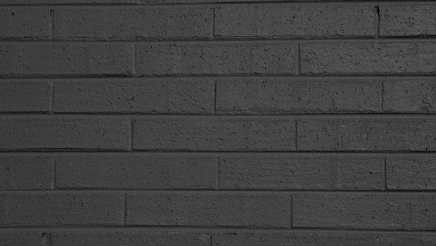 Charcoal Gray Painted Brick Wall Texture High
