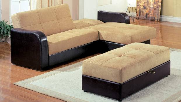 Charming Brown Velvet Sectional Shaped Cool Couches