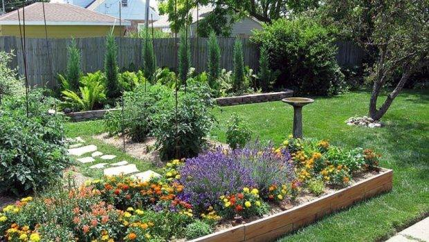 Cheap Backyard Landscaping Ideas Actual Home