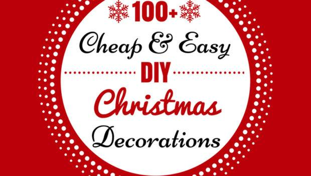 Cheap Easy Diy Christmas Decorations Prudent Penny