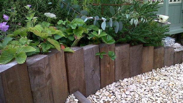 Cheap Garden Edging Ideas Pinterest