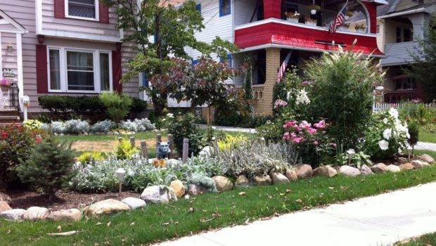 Cheap Landscaping Ideas Grass Front House