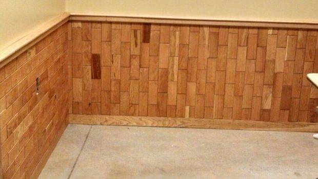 Cherry Tile Wainscoting Wall Treatments Pinterest