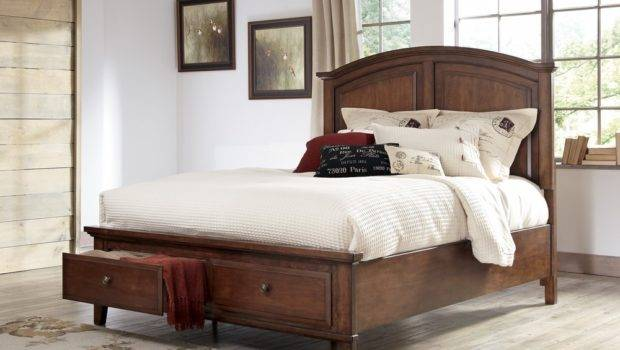 Cherry Wood Headboard Best Furniture Vintage Lover
