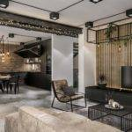 Chic Industrial Loft Lithuania Gets Modern Updates