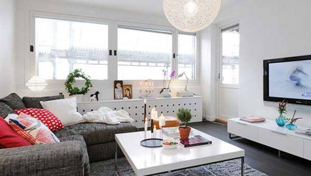 Chic Modern Small Apartment Design Living Room Decor Nice