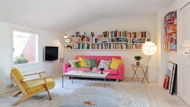Chic Ways Decorate Your Apartment Books