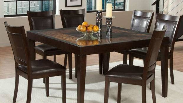 Chicago Furniture Store Square Dining Table Chairs