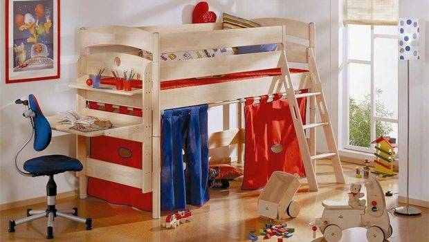 Childrens Beds Small Rooms Living Room Furniture Funny Play