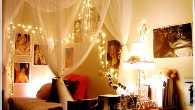 Christmas Bedroom Lights Design Decor Ideas