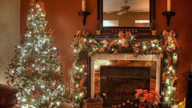 Christmas Decorating Ideas Living Room Old Fashioned