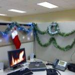 Christmas Decorating Ideas Office Hominic