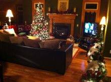 Christmas Decorations Tree Living Room Plus