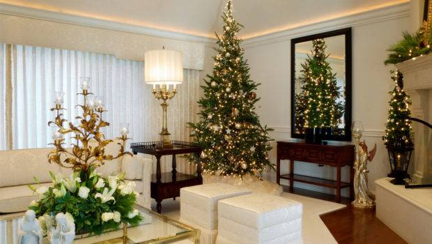 Christmas Decorations Your Home Interior Minimal Design