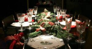 Christmas Dining Room Table Ideas Nice