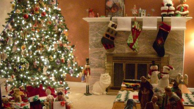 Christmas Living Room Decorating Ideas Complete