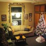 Christmas Living Room Decorations Simple