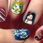 Christmas Nail Designs Tumblr Short Nails