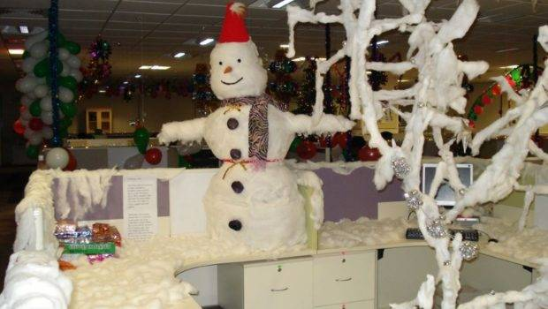 Christmas Office Decorating Ideas Manage Style Client Call