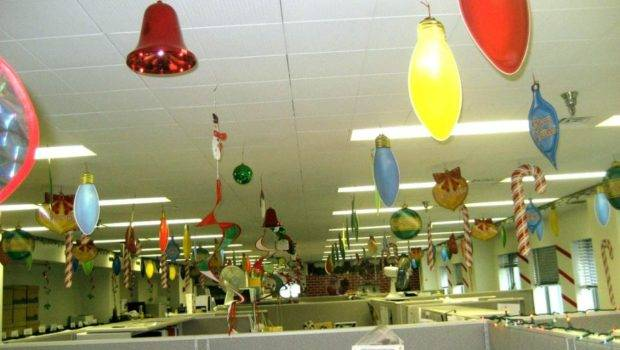 Christmas Office Decorating Themes Holiday Ideas
