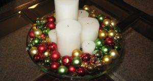 Christmas Simple Centerpiece