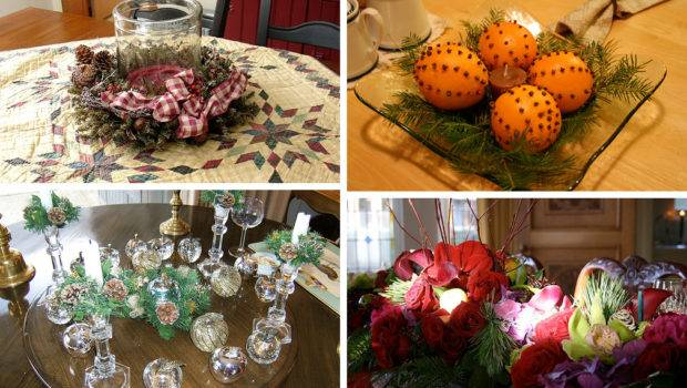 Christmas Table Centerpiece Decorations
