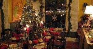 Christmas Table Setting Entertaining Pinterest