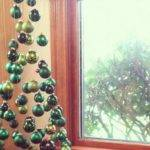Christmas Tree Made Suspended Ornaments Seen Reddit