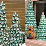 Christmas Tree Shop Craft Supplies Glass Bowl Fillers Teal