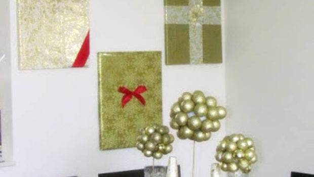 Christmas Wall Decorations Ideas Deck Your Walls
