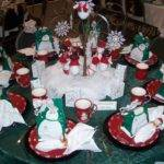 Christmas Winter Table Decorating Design Ideas
