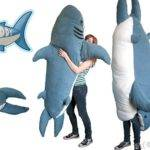 Chumbuddy Giant Stuffed Shark Sleeping Bag Thingy Excited