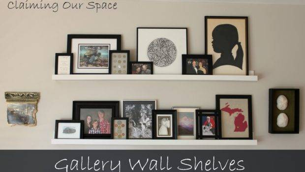 Claiming Our Space Wall Shelves